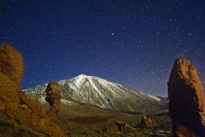 Las cumbres de La Orotava recibieron la certificación Starlight. Haciendo del astroturismo un valor imprescindible.